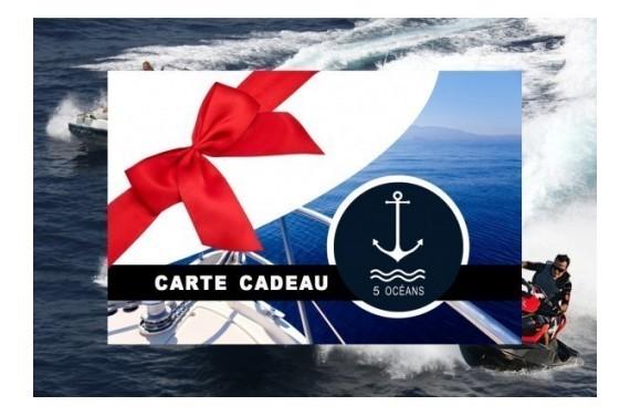 Permis côtier - Carte cadeau à imprimer 250€* (Au lieu de 350€*, Promo du mois de septembre jusqu'au 30/09)
