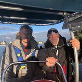 Les bonnes journées sur l'eau ça manque, merci Nono et Pascal et à bientôt ✌️ #permis bateau #vannes #nantes #rennes #lorient #formation #brest #bzh #paris #nono #lovemyjob #sailer #mer